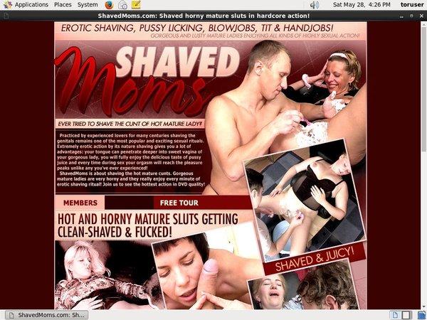 Account For Shavedmoms.com