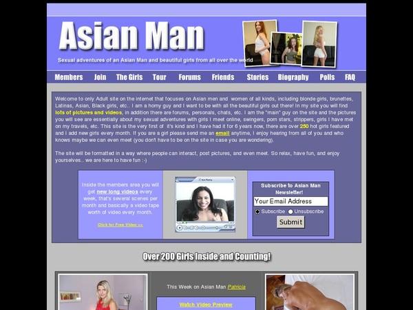 Asian Man Updated Passwords