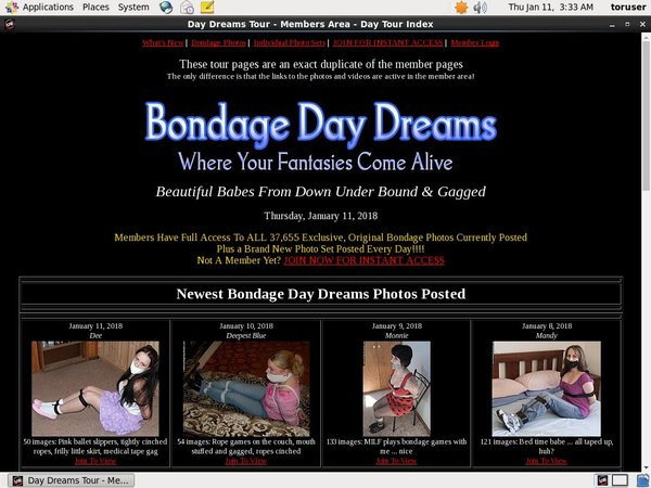 Bondage Daydreams Adult Passwords