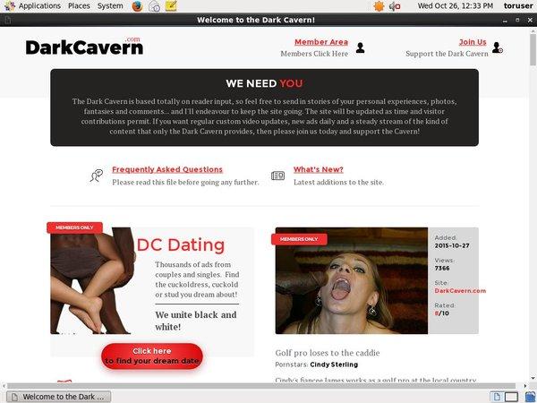 Dark Cavern Discount Link
