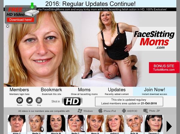Face Sitting Moms Websites
