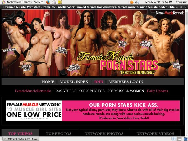 Female Muscle PornStars Allow Paypal
