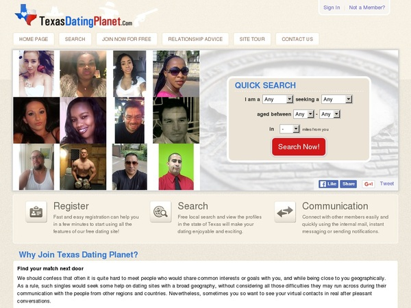 Texas dating online