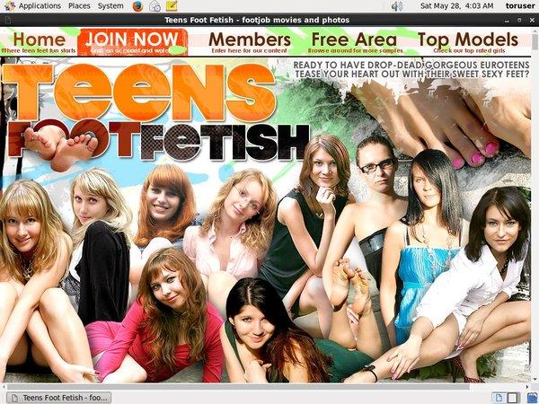 Get Inside Teens Foot Fetish