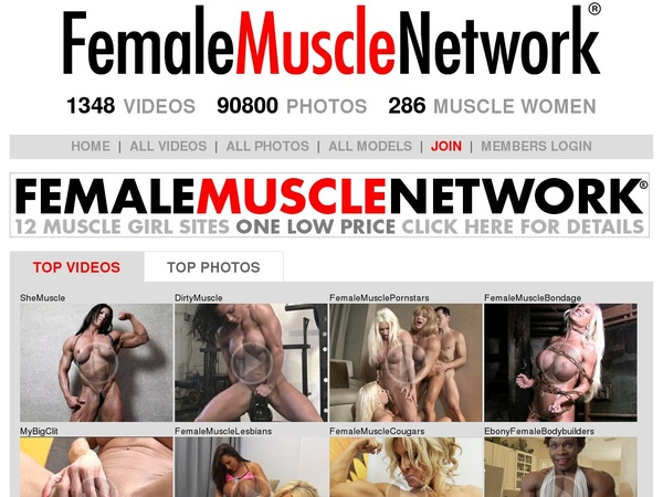 Get Into Female Muscle Network