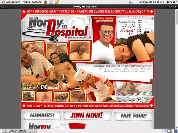 Horny In Hospital Access