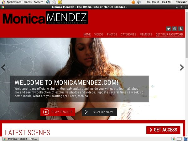 Monicamendez.com With Online Check