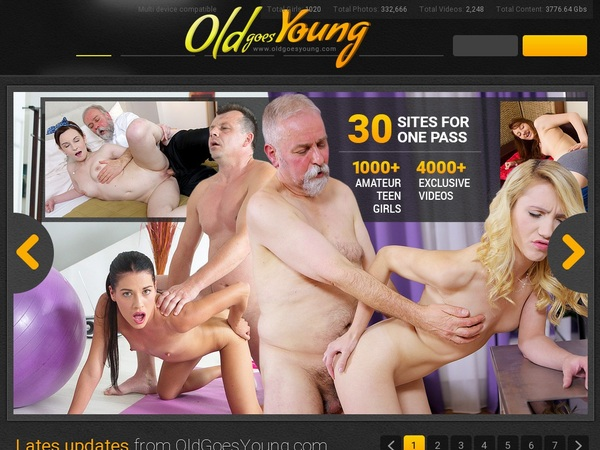 Oldgoesyoung.com Account Password