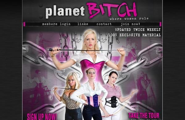 Planetbitch.com With EUDebit