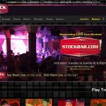 Stock Bar Login Info