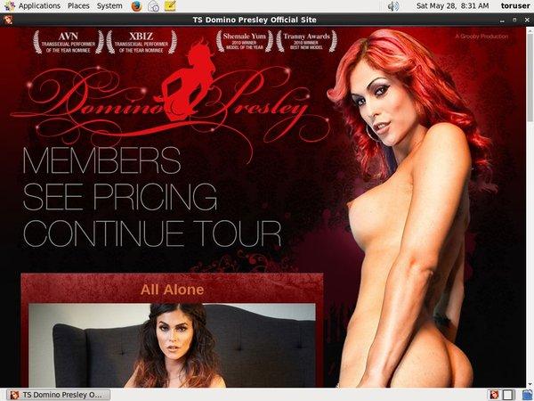 TS Domino Presley Pay Pal Account