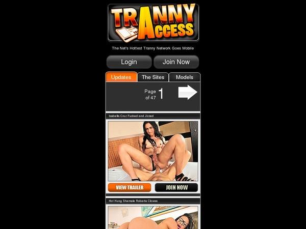 Tranny Access Mobile Scenes