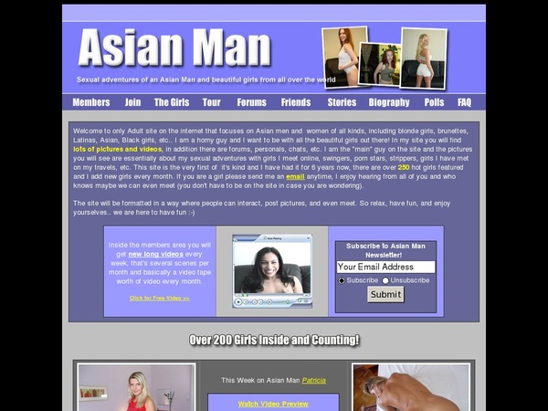 Asian Man Discount Offer
