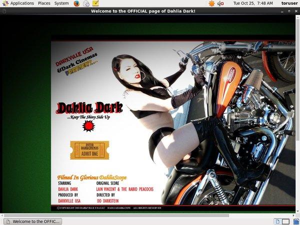 Dahlia Dark Passwords Blog