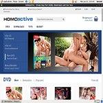 Homoactive New Password