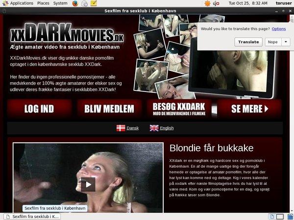 Xxdarkmovies.dk New Account