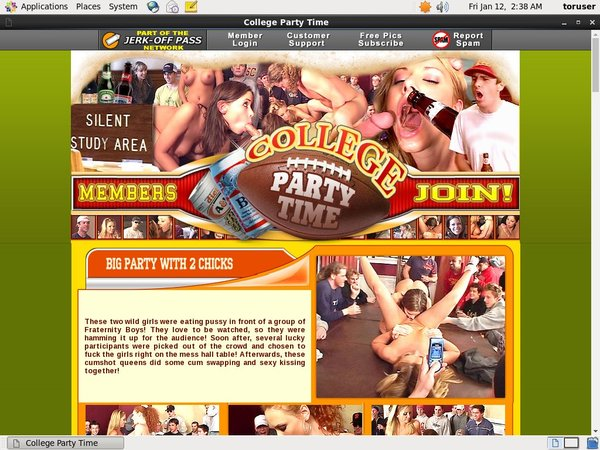 Acc For College Party Time