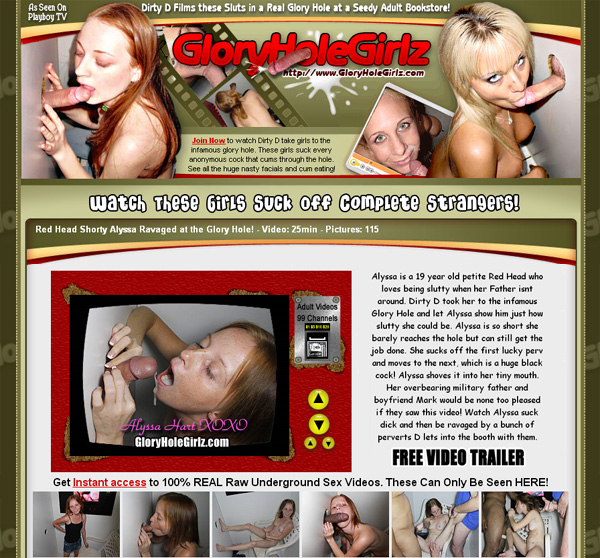 Glory Hole Girlz Pay With