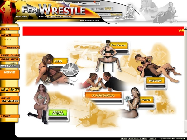 Join Femwrestle With Paypal