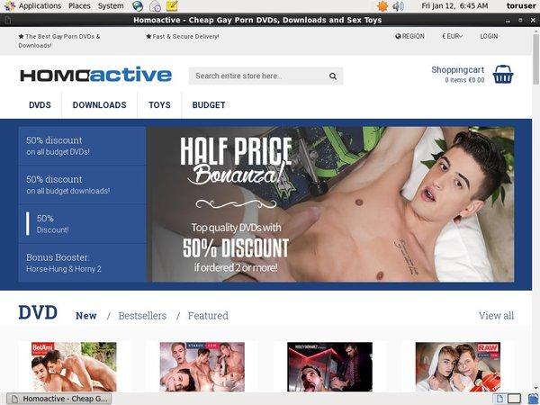 Homoactive.com Videos Free
