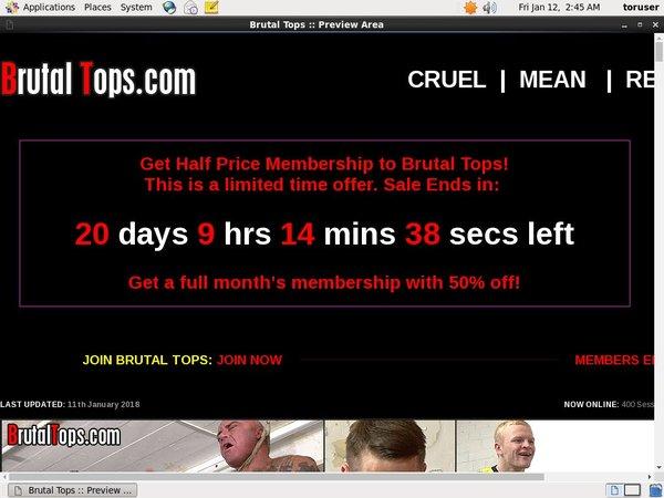 Brutaltops.com Pass