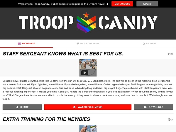 Troop Candy Clip Cash