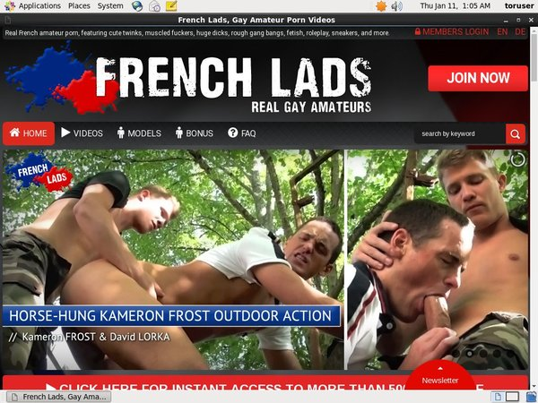 Frenchlads.com Free Password