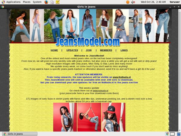 Jeans Model Pay Pal Account