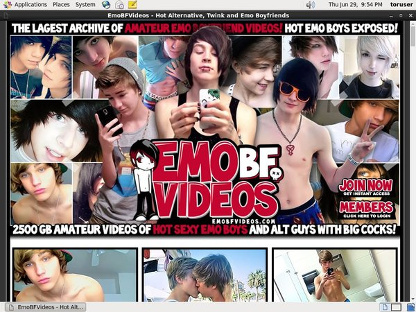 Join Emo BF Videos With Paypal