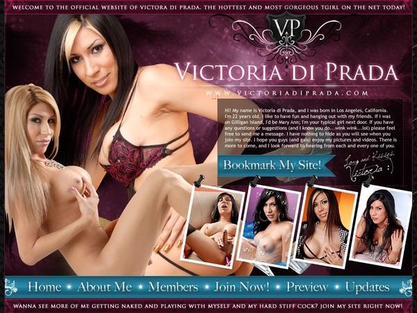 Victoria Di Prada Create Account