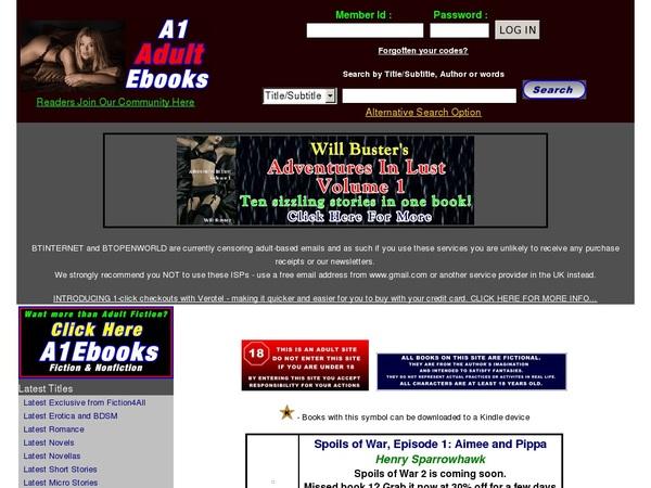 A1adultebooks.com Free Passes