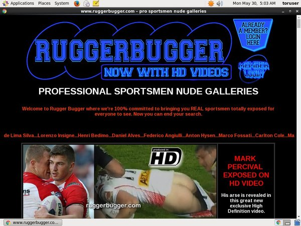 Rugger Bugger Password And Account