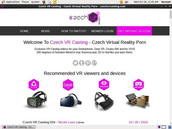 Czechvrcasting.com Eu Debit