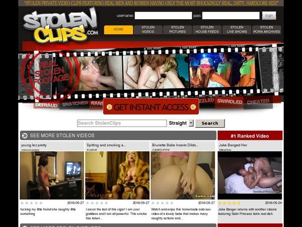 Stolenclips.com Free Member